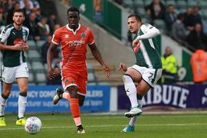 antoni sarcevic becomes the latest addition to plymouth argyle's lengthy injury list