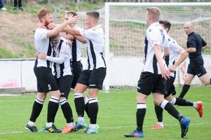 Danny Clare thunderbolt seals home win for Cinderford Town