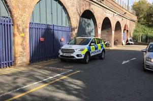 first video emerges from chelmsford train station after trespasser climbs onto the tracks