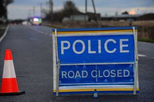 live: the a505 closed due to ongoing police incident