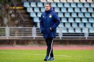 malky mackay will only be in charge of scotland for one game - stewart regan