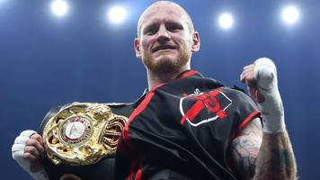 world boxing super series: george groves beats jamie cox with fourth-round knockout