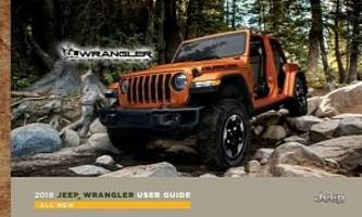 2018 jeep wrangler (jl/jlu) leaked through owner's manual and user guide
