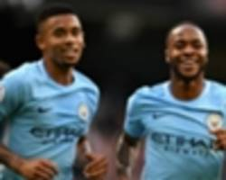 premier league team of the week: man city stars dominate after stoke thrashing