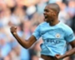 fernandinho hints at new man city contract after stunning strike against stoke