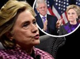 Hillary Clinton says claim Bill hated her book is a lie