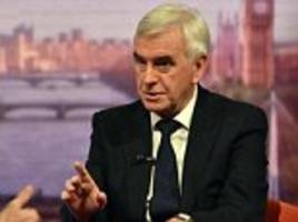 mcdonnell: labour is planning for a run on the pound