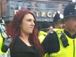 britain first's jayda fransen is arrested for bail breach
