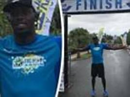 Usain Bolt swaps sprinting for middle distance in 5km race