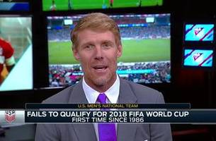 alexi lalas' take on state of u.s. soccer after missing the world cup spot