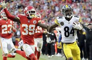 chiefs' undefeated run ends with 19-13 loss to steelers