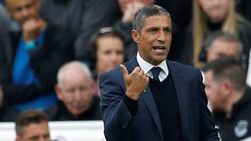 Brighton & Hove Albion 1-1 Everton: Chris Hughton disappointed with Everton draw