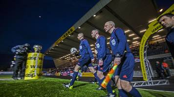 Abuse causing amateur football referees to quit