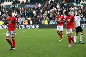 Nottingham Forest supporters describe 2-0 Derby defeat as 'infuriating'
