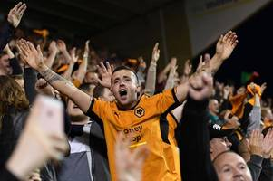 wolves 2 aston villa 0: the view from the north bank as wanderers ease to derby victory