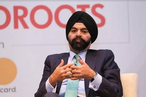 ajay banga, ceo mastercard goes back to roots; visits st stephen's college after three decades