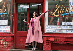 is new series 'mrs. maisel' the jewish 'gilmore girls'?