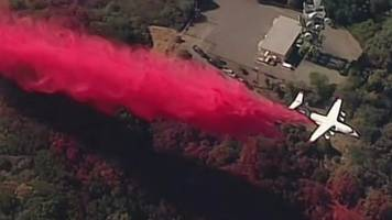 California wildfires: More than 10,000 firefighters are still tackling blazes
