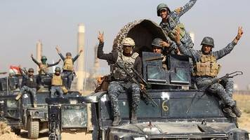 Iraqi forces seize territory outside Kirkuk from Kurds