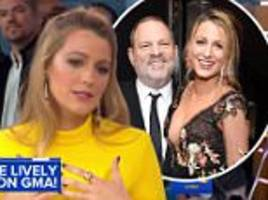 Blake Lively calls for action after Harvey Weinstein news