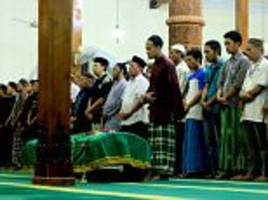 Family mourn Indonesian goalkeeper killed during match