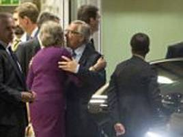 Theresa May and Juncker agree to 'accelerate' Brexit talk