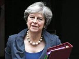 Theresa May to travel to Brussels today for talks