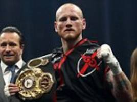 george groves lifts the lid on sparring chris eubank jnr