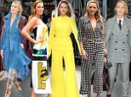 Blake Lively shines bright in FIVE head-turning outfits