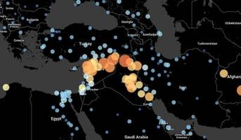 mesmerizing maps reveal which cities around the world are most likely to fall apart