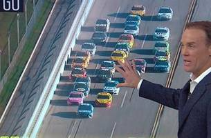 kevin harvick and chad knaus break down the major wrecks this past weekend at talladega superspeedway