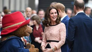 The Duchess of Cambridge attends Paddington charity event