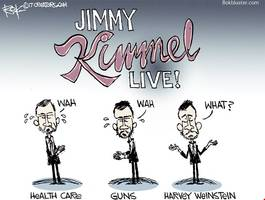 hypocrite kimmel defends weinstein silence: i'm not the moral conscience of america