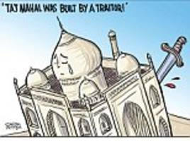 Satish Acharya on... The Taj Mahal and India's 'traitors'
