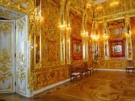 Sleuths launch search stolen from Russia's Amber Room