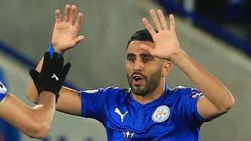 mahrez salvages leicester point against west brom