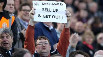 sympathy, scepticism, shearer - the end of the ashley era?
