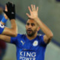 mahrez rescues point for leicester in 1-1 draw