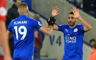 "mahrez needed ""kick up backside"", insists shakespeare"