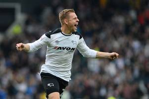 matej vydra's opener against nottingham forest was quick - but was not quickest ever derby county goal