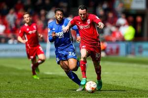a player like lee tomlin could have helped us beat burton says bristol city boss lee johnson