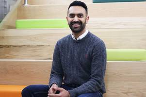 founder of one of nottingham's best young tech firms is named uk's 'rising star'
