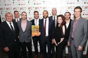 team of the year award is 'great fit' for sponsors the nottingham label company