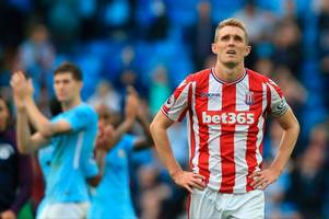 stoke city's beaten players need a cold couple of hours on the training pitch
