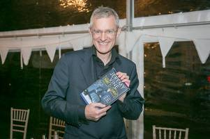 guildford book festival: bbc journalist jeremy vine holds town with fond regard during talk about his second book