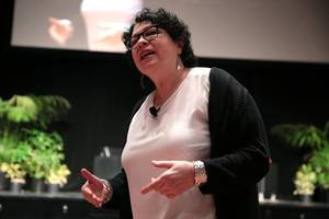 sotomayor: judging brings emotions, but keep them in check