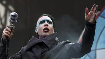 Marilyn Manson was in 'excruciating pain' after stage accident