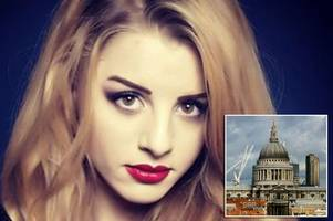 the heartbreaking suicide notes left by beautiful figure skater who plunged to her death at st paul's cathedral