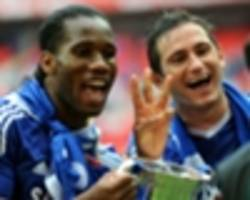 drogba, hazard and aguero make chelsea legend lampard's list of greatest team-mates