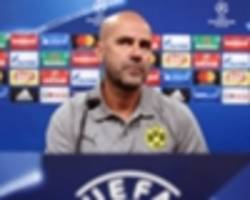 We know it's difficult now, admits Dortmund boss Bosz following Champions League draw